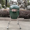 22inch green egg shape ceramic kamado barbeque grill MCD-2200S